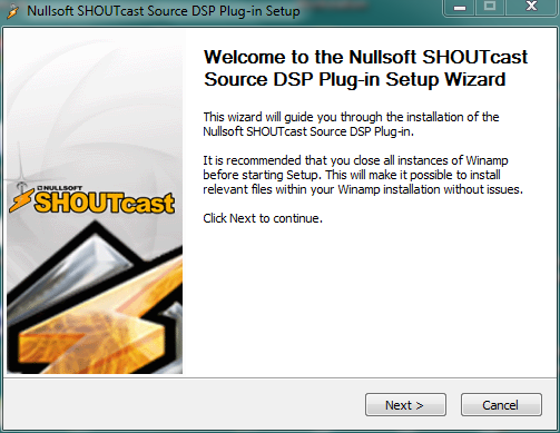 Via Streaming | SHOUTcast DSP Plugin