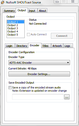 shoutcast source dsp v1.9.1